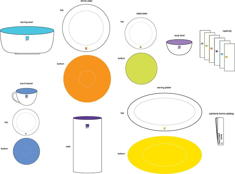 Design Presentation Pantone Dinnerware. Fe_pant_pat_pre3_blog  sc 1 st  Andy Jacobson - Typepad & Design Presentation: Pantone Dinnerware - Andy Jacobson // Graphic ...